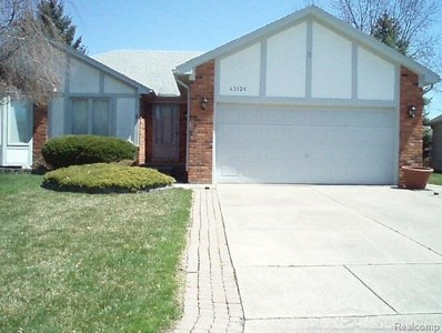 43126 Nebel Trail, Clinton Twp, MI 48038 - MLS#: 58031342215