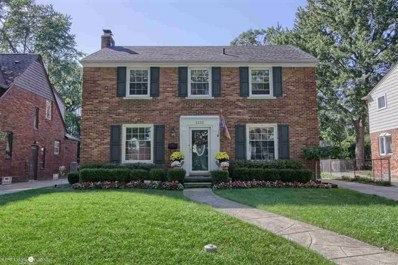 1335 Audubon, Grosse Pointe Park, MI 48230 - MLS#: 58031342348