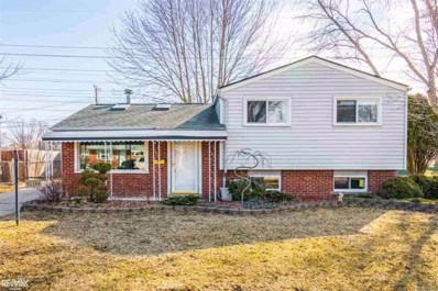 41156 Paign, Sterling Heights, MI 48313 - MLS#: 58031342563