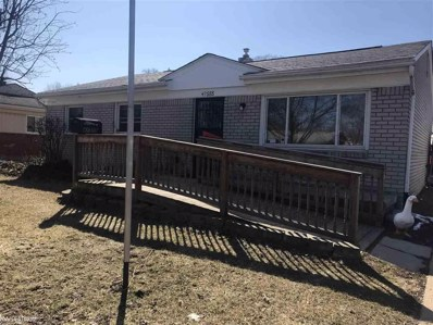 47555 Jeffry, Shelby Twp, MI 48317 - MLS#: 58031342948