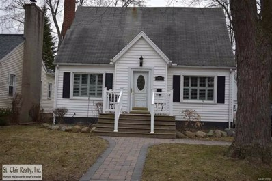 824 N Sixth St, St Clair, MI 48079 - MLS#: 58031343663