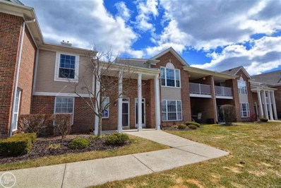 45547 Heather Ridge UNIT 107, Macomb Twp, MI 48044 - MLS#: 58031344092