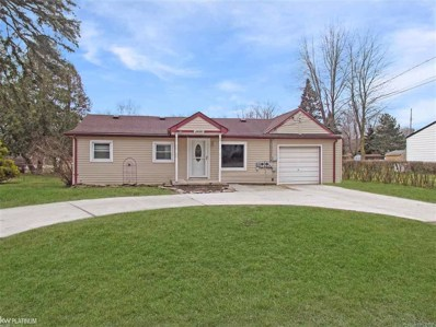 26980 Coleridge, Harrison Twp, MI 48045 - MLS#: 58031344355