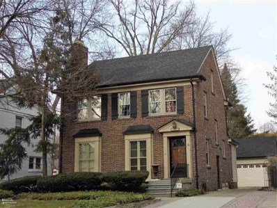 1361 Bishop, Grosse Pointe Park, MI 48230 - MLS#: 58031344817