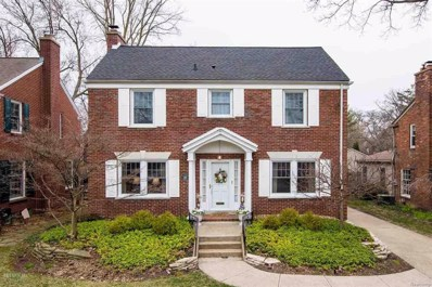 1261 Bishop, Grosse Pointe Park, MI 48230 - MLS#: 58031346320
