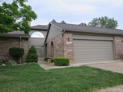 51414 Fox Hill Trail, Chesterfield Twp, MI 48047 - MLS#: 58031349341