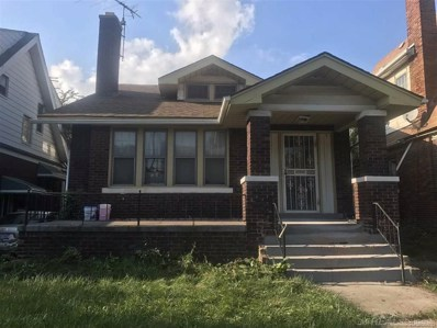 3774 Taylor St, Detroit, MI 48203 - MLS#: 58031350031