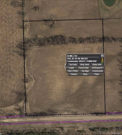 36 Mile, Bruce Twp, MI 48065 - MLS#: 58031350060