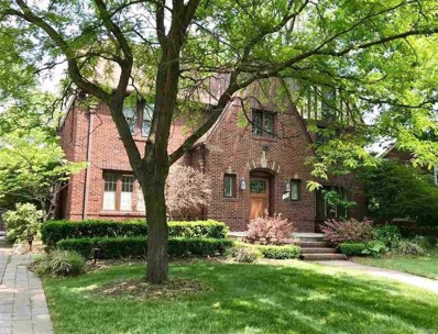 1120 Buckingham, Grosse Pointe Park, MI 48230 - MLS#: 58031350118