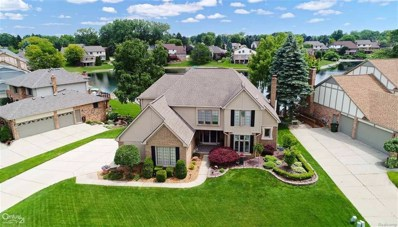 48360 Lake Valley Dr, Shelby Twp, MI 48317 - MLS#: 58031350747