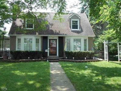857 Hawthorne, Grosse Pointe Woods, MI 48236 - MLS#: 58031352418