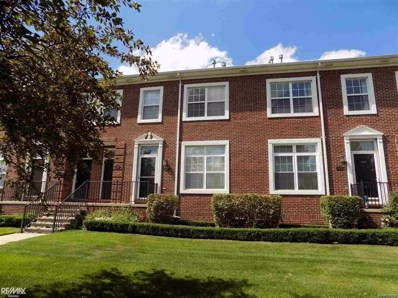 14502 Vauxhall UNIT 66, Sterling Heights, MI 48313 - MLS#: 58031352576