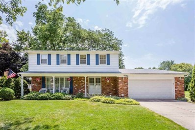 5054 Woodberry, Shelby Twp, MI 48316 - MLS#: 58031353823