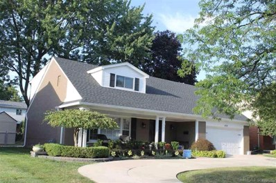 828 Blairmoor Ct, Grosse Pointe Woods, MI 48236 - MLS#: 58031353918