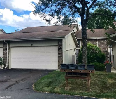 31 Kirks Ct., Rochester Hills, MI 48309 - MLS#: 58031354318