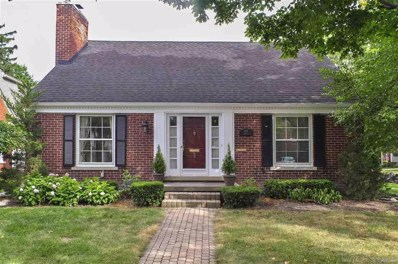 433 Roland Road, Grosse Pointe Farms, MI 48236 - MLS#: 58031354659