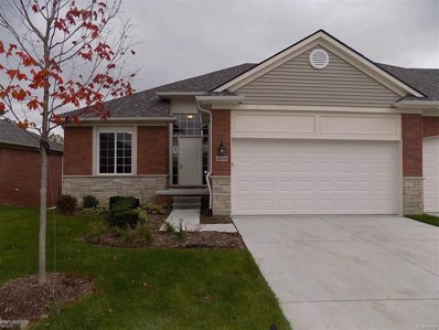 49106 Pond Place Drive UNIT UNIT # >, Shelby Twp, MI 48315 - MLS#: 58031355211