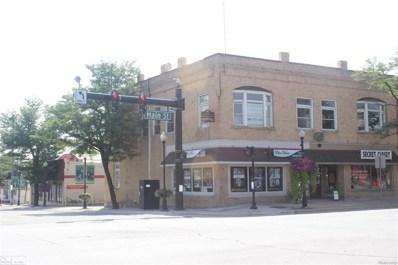 101 S Main Street, Romeo Vlg, MI 48065 - MLS#: 58031356264