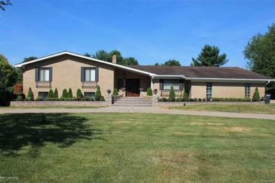 60651 Mound, Washington Twp, MI 48094 - MLS#: 58031357102
