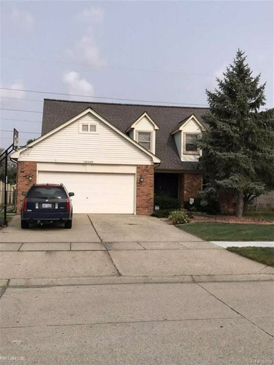 46449 Fox Run Dr, Macomb Twp, MI 48044 - MLS#: 58031357673