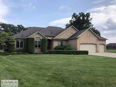 8 Old Course, St Clair Twp, MI 48079 - MLS#: 58031357827