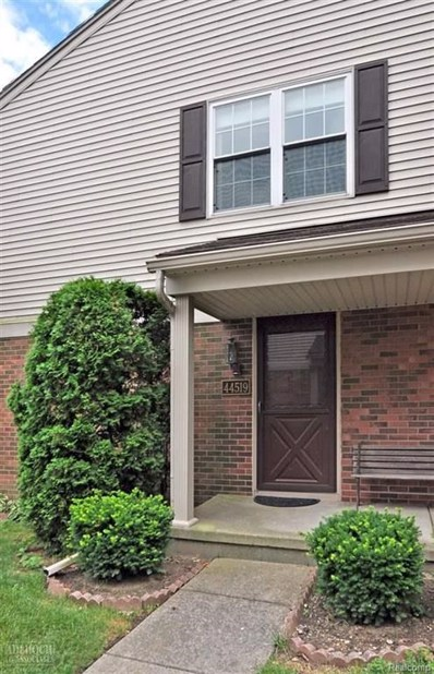 44519 N Bunker Hill Dr UNIT 44519, Clinton Twp, MI 48038 - MLS#: 58031358946