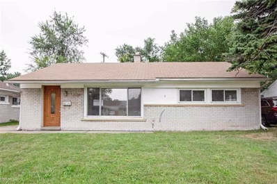 25739 Miracle, Madison Heights, MI 48071 - MLS#: 58031359906