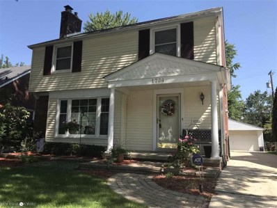 1734 Stanhope, Grosse Pointe Woods, MI 48236 - MLS#: 58031360252
