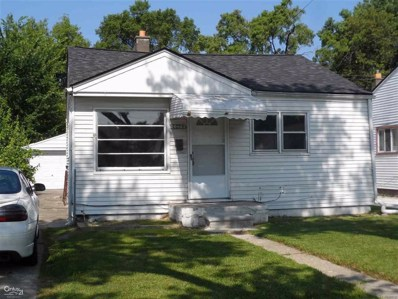 20803 Atlantic Ave, Warren, MI 48091 - MLS#: 58031360331