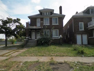 4901 Whitfield, Detroit, MI 48204 - MLS#: 58031360659
