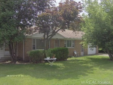 5050 E Peck Road, Lexington Twp, MI 48422 - MLS#: 58031361526