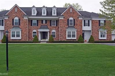 1675 Huntington Park UNIT Unit #4, Rochester Hills, MI 48309 - MLS#: 58031361788