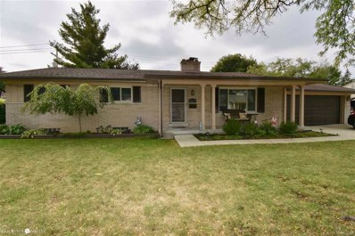 1045 Marian, Grosse Pointe Woods, MI 48236 - MLS#: 58031361837