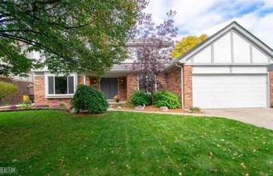 14889 Crofton, Shelby Twp, MI 48315 - MLS#: 58031362852