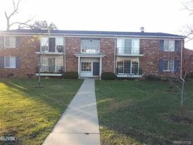484 Fox Hills UNIT Apt #8, Bloomfield Twp, MI 48304 - MLS#: 58031363211