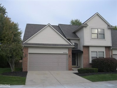 41060 Kensington, Clinton Twp, MI 48038 - MLS#: 58031363758
