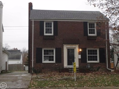 1323 Hampton Rd, Grosse Pointe Woods, MI 48236 - MLS#: 58031365598