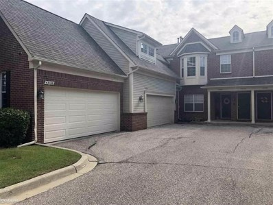43186 Pendleton Cir, Sterling Heights, MI 48313 - MLS#: 58031366741