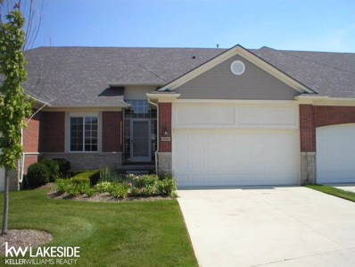 49207 Pond Place UNIT Unit #1>, Shelby Twp, MI 48315 - MLS#: 58031372771