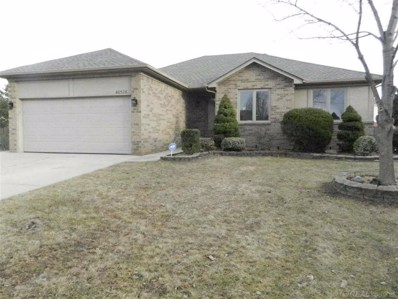 46526 Morningside, Macomb Twp, MI 48044 - MLS#: 58031373735
