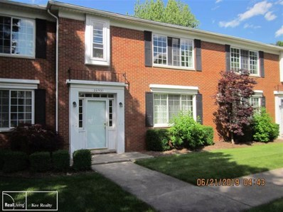 20931 Wildwood UNIT Unit #2>, Harper Woods, MI 48225 - MLS#: 58031385463