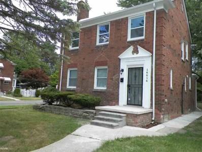 16616 Greenview, Detroit, MI 48219 - MLS#: 58031390236