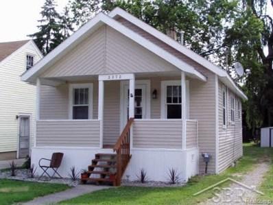 2272 Taft, Saginaw, MI 48602 - MLS#: 61031339918