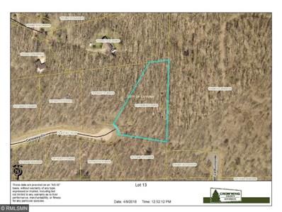 Lot 13 Getaway Circle, Deerwood, MN 56444 - MLS#: 4937799