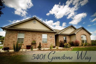 5401 Gemstone Way, Columbia, MO 65202 - MLS#: 379861