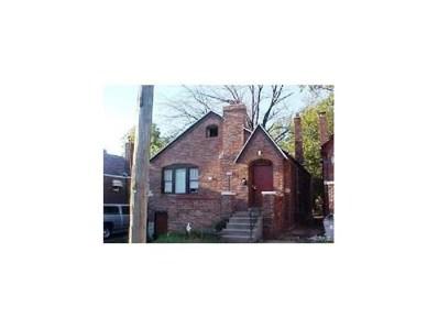 6120 Bircher Street, St Louis, MO 63120 - MLS#: 17000823