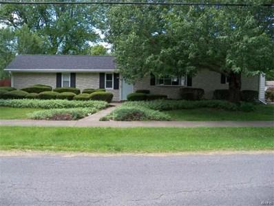 609 N Poplar Street, Mount Olive, IL 62069 - MLS#: 17046221