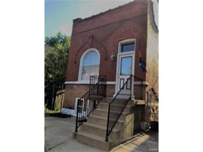 3243 Texas Avenue, St Louis, MO 63118 - MLS#: 17048234