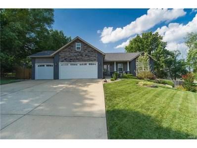 537 W Lake Drive, Edwardsville, IL 62025 - #: 17056624
