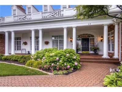 49 Manderleigh Estates, St Louis, MO 63131 - MLS#: 17070363